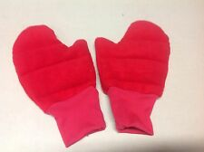 Wheat/Heat Bag - RED Mittens-aching hands,Athritis, Pain Relief