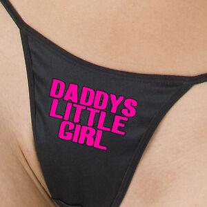 DADDYS LITTLE GIRL intimate lingerie underwear bras Bikini Panties Funny Thongs