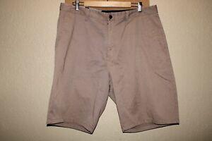 "VOLCOM Mens 38"" Waist khaki Frickin chino shorts Combine ship Discount"