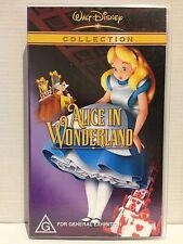WALT DISNEY CLASSIC ~ ALICE IN WONDERLAND ~ RARE VHS VIDEO