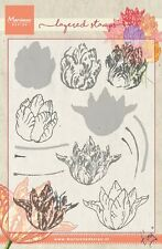Marianne Design Layering TINY'S TULIP Clear Rubber Stamps TCO0852