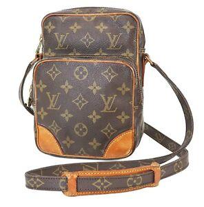 Auth LOUIS VUITTON Amazone Monogram Cross body Shoulder Bag Purse #39634