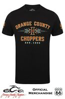 Official Orange County Choppers 'Pinstripe' T-Shirt - Bobber, Trike, Harley.