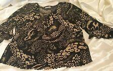 Susan Lawrence para Mujer Blusa Prenda para el torso Talla L Mangas de campana