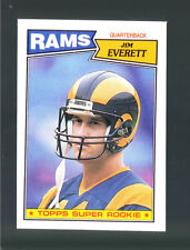 1987 Topps Los Angeles RAMS Team LOT  w/Inserts (17 CARDS) Jim Everett RC