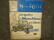 January 18 1962 The Motor Cycle Magazine Volume 108 No 3058 AHRMA Motorcycle