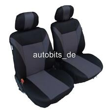 2x Seat sitzbezüge Seat Covers Grey For VAUXHALL PEUGEOT RENAULT SEAT SKODA