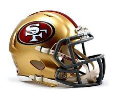 65c4433f4 San Francisco 49ers Riddell NFL Football Team Logo Mini Speed Helmet