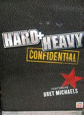Hard Heavy NEW DVD Bret  Michaels Confidential live Acoustic performance,Poison