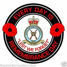 RAF Royal Air Force Regiment Remembrance Day Inside Car Window Sticker