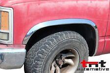 Stainless Steel Fender Trim | 88-98 Chevy Pickup & GMC Sierra (w/o side molding)