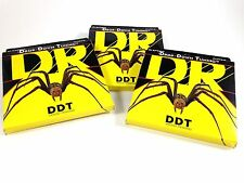 DR Guitar Strings 3 Pack Electric DDT Drop Down Tuning 11-54 Extra Heavy