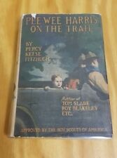 Pee-Wee Harris On The Trail First Edition 1st Percy Keese Fitzhugh 1922 HC DJ