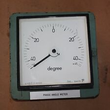 Antique Vintage Steampunk Collectors Meter TEMPERATURE GAUGE DIAL 45degC