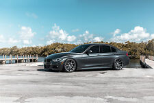 20x9 (2) 20X10.5 (2) Velgen VMB9 5x120 Gun metal Wheel Fit BMW F30 340 2016 2017