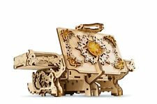 Ugears AMBER BOX Mechanical Wooden Model KIT - 3D puzzle, Self Assembling