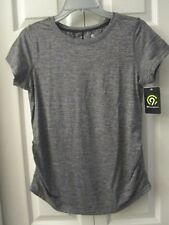 NWT Maternity Soft Top T-Shirt C9 Champion® Dark Heather Gray S Semi Fitted