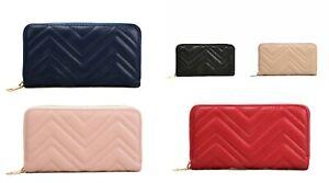 Acess Women's Long corrugated Wallet Purse VKP1617