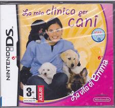 Nintendo DS~2DS~3DS LA VITA DI EMMA ~ LA MIA CLINICA PER CANI nuovo sigillato