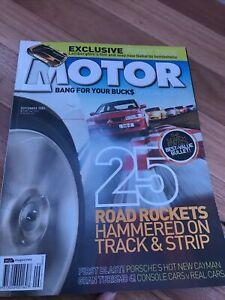 MOTOR Car magazine B SEPT 2005 FPV F6 CAYMAN M3 C70 GT4 ENZO MC12 CLS55 SRT6 750