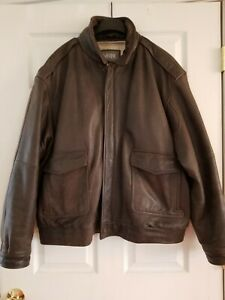 Wilson Leather Thinsulate Ultra Aviator Bomber Jacket BIG Size L Flyboy Cosplay