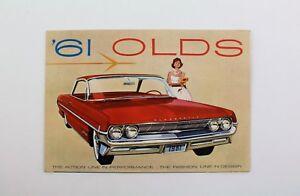 Oldsmobile - 1961 Dealership Fold-Out Poster - Vintage / Antique - Automobilia