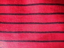 By the Metre Acrylic Unbranded Striped Fabric