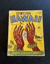 All About Hawaii Thrums Hawaiian Annual 1954 79th Edition