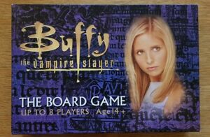 Buffy the Vampire Slayer Board Game (2000) Rare Edition Complete