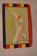 1953 - Vintage - Coles Cricket Card - English Cricketers - Bob Appleyard