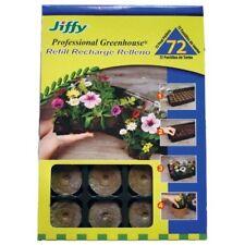 Jiffy J3R72 Peat Pellet Refill Tray 72 for No.272