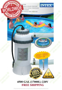 Intex 28684 Pool-Heater Electric EU plug for Swimming Pool + thermometer 220V