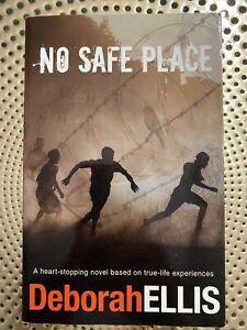 No Safe Place by Deborah Ellis (English) Paperback Fiction Book Novel