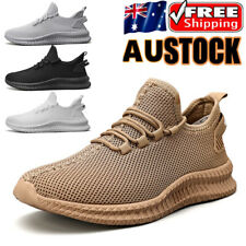 Mens Casual Running Shoes Breathable Sneakers Athletic Jogging Tennis Sports Gym
