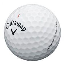 24 Callaway Chrome Soft AAA Golf Balls Free Tees