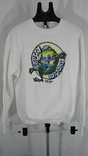 90s vintage Dallas texas froggy Bottoms white sweatshirt XL
