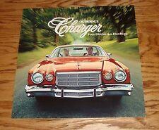 Original 1976 Dodge Charger Sales Brochure 76 Daytona Sport
