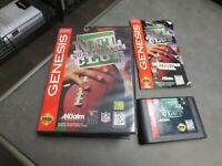 NFL Quarterback Club (Sega Genesis, 1994) Complete in Box - CIB
