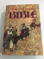 The Childrens Bible Vintage 1965 Golden Press Hardcover Illustrated Stories