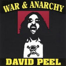 David Peel - War and Anarchy - 1994 Noiseville Wayne Kramer NEW CD