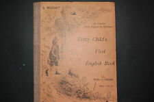 Every  child's, first English book  G Mouchet 1900 le 1er livre d'Anglais