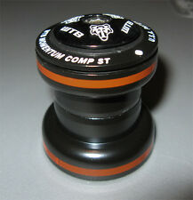 "WTB Momentum Comp ST Threadless Bicycle Bike Headset 1-1/8"" Black Orange"