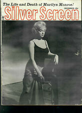 Silver Screen Dec1962 Marilyn Monroe-Pernell Roberts....