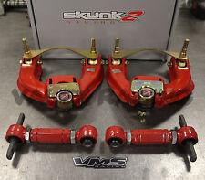 Skunk2 Pro Series FRONT & VMS REAR Camber Kit Combo 88-91 Honda Civic EF