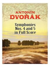 Antonin Dvo?ák Symphonies No. 4 And 5 In Full Score Learn Orchestra MUSIC BOOK