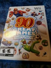Family Party: 90 Great Games Party Pack (Nintendo Wii, 2010) no manual