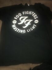 Foo Fighters �2011� Waisting Light Concert Tee Large