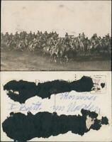 Kolonie Namibia Afrika  Manöver Schutztruppe Deutsch-Südwestafrika DSWA 1914