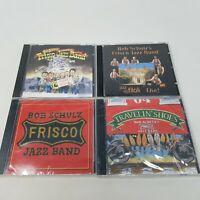 Bob Schulz Frisco Jazz Band Lot of 4 CDs (2 New, 2 Used)