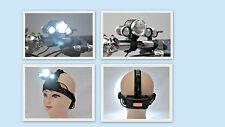 Ultra Hell 3 x CREE XM-L T6 LED Stirnlampe, Fahrradlampe + Akku + Ladegerat